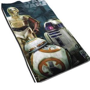 """Star Wars The Droids Beach Towel. 28"""" x 58"""". NWT"""